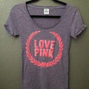 Victorias Secret Love PINK Sequins Top Sz. XS